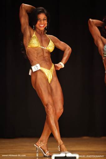 Tara Marie competition, yellow suimsuit