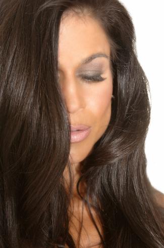 Tara Marie blue eyeshadow